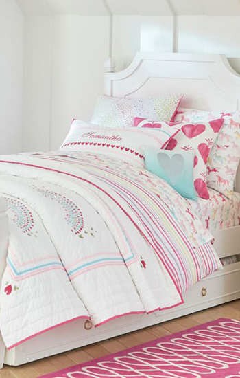 Girls Bedding Collections Girls Quilts Duvets