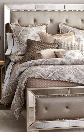 Luxury bedding luxury duvets comforters buyer select for Designer linens and home fashions