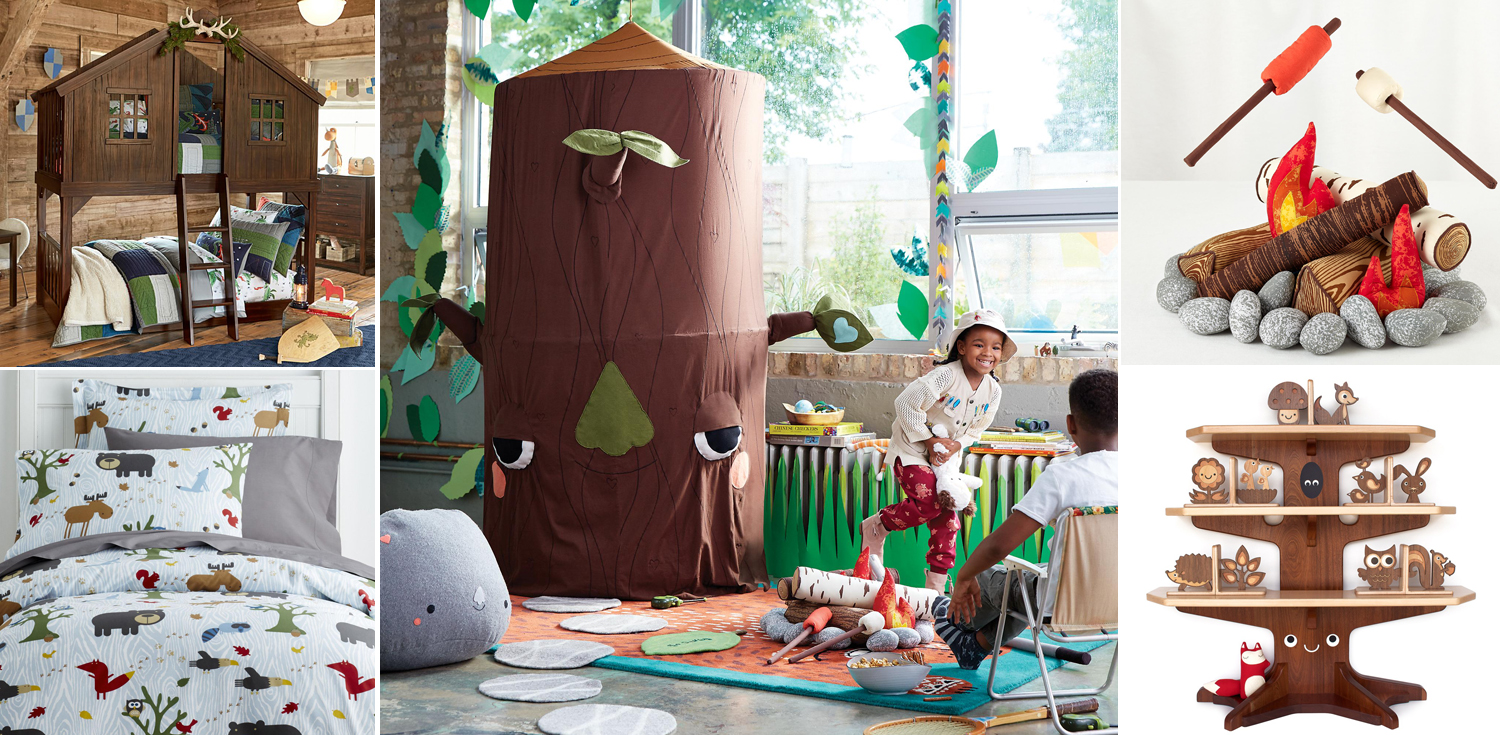 Kids Woodland Bedroom Theme
