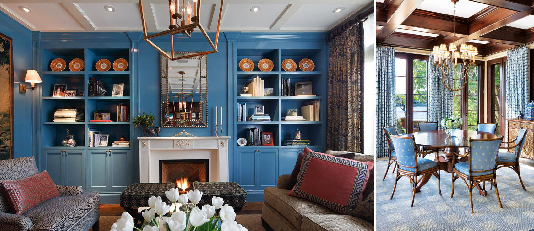 Blue Decor | Decorating with Blue